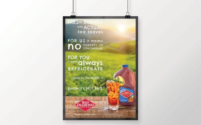 A foodservice marketing poster created by Foodmix for Smithfield with the words Snack On.