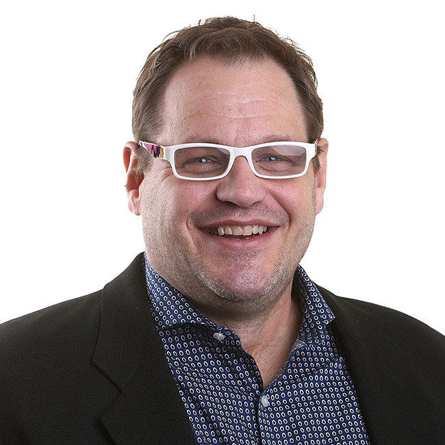 Foodmix's creative director, Tim O'Brien.